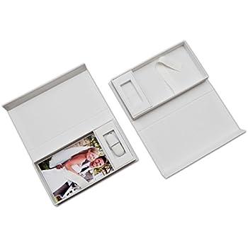hochzeit usb aufbewahrungsbox mit foto box weiss ohne computer zubeh r. Black Bedroom Furniture Sets. Home Design Ideas