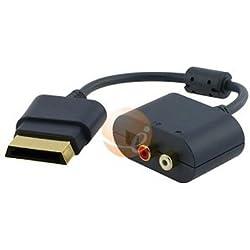 B&A-Adaptateur Optique/RCA pour Xbox 360-Adaptateur micro-casque Xbox 360 pour connections HDMI