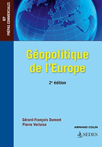 Gopolitique de l'Europe - 2e d. - IEP - Prpas commerciales