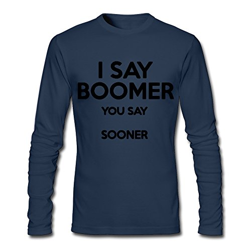 I Say XJ-cool Boomer You Say prima Athletic-T-shirt da uomo, colore: blu Navy blu navy XL