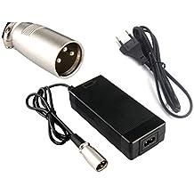 54.6V1.5A caricatore 54.6v 1.5A caricabatteria elettrica della batteria di litio della bici per il pacchetto della batteria di litio 48V (Connettore XLRM)