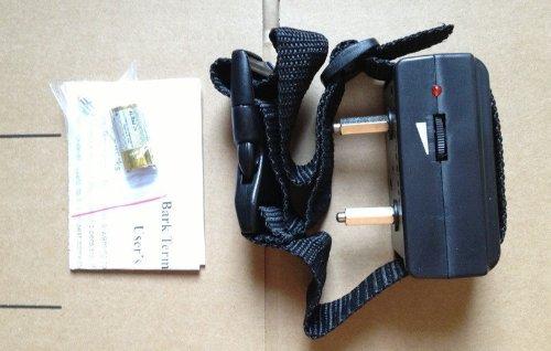Collier ANTI ABOIEMENT Electrique Dressage + Pile - Chien