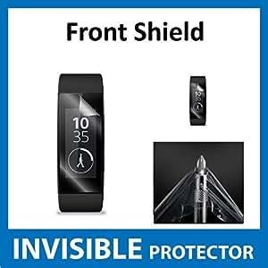 Sony smartband Talk swr30avant Invisible Film de protection d'écran (avant Shield inclus) de qualité militaire Protection Exclusive à Ace Étui