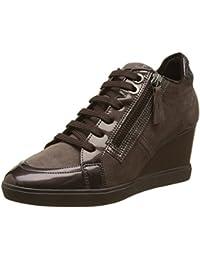 Geox D Eleni C, Zapatillas Altas Para Mujer