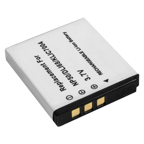 MTEC Kameraakku 750mAh 2,80Wh 3,7V für Fujifilm X10 X20 XF1 FinePix F100fd F200 F300 F500 F50fd F550 F60fd F600 F60fd F660 F70 F700 F750 F770 F800 F810 F80 J50 REAL 3D W3 XP100 XP150 XP50 Kodak EasyShare M1033 M1093 IS V1073 V1233 V1253 V1273 Playsport PLAYTOUCH Zi8 Zx3 Pentax Optio S10 S12 VS 20 Q10 ersetzt Originalakku Bezeichnung: NP-50 Klic-7004 D-LI68 D-Li122
