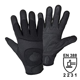 FerdyF. 1911 Black Security Mechanics Work Glove – Black, Size S