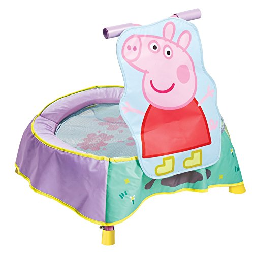 Peppa Pig Indoor Childrens Toddler Trampoline by KidActive