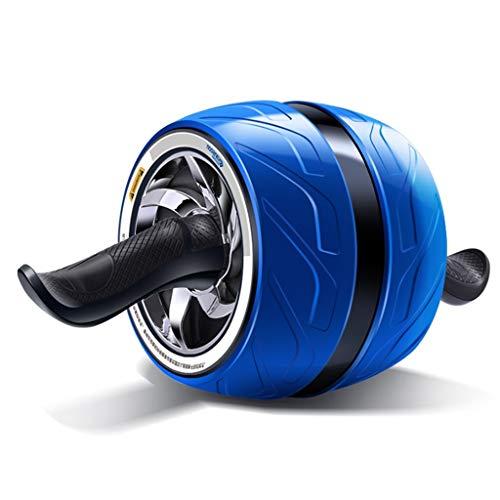 Bauchtrainer Abdominal Roller Ab Roller for Abs Workout Ab Roller Rad Übungsgeräte Ab Wheel Übung Riesenrad Ausrüstung Übung Und Fitness Rad (Color : Blue, Size : 20 * 40 * 16CM)