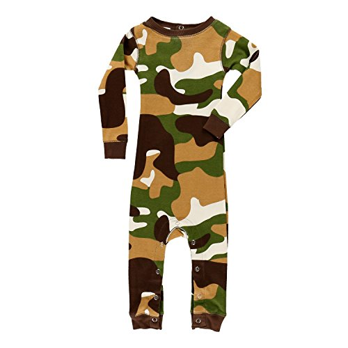 Lazy One Boys Camo Deer All-in-One Flapjack Infant