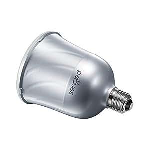 L'ORIGINAL ! SENGLED MASTER PULSE. Toute la puissance du son JBL, depuis ton Smartphone ou ta tablette via ton ampoule ! Boîtier couleur argent.