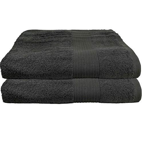2er colour gris oscuro juego acción toalla toallas