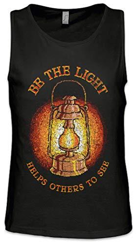 Paraffin-tank (Be The Light Herren Männer Tank Top Training Shirt Größen S - 5XL)