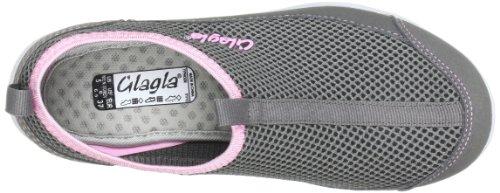 Glagla 120064, Boots femme Gris (Charcoal-Pastel Pink)