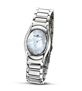 Philip Ladies Jewel Analogue Watch R8253187745 with Quartz Movement, Mother Of Pearl Dial and Stainless Steel Case