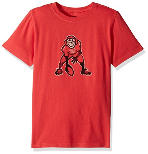 Life is Good B SS Tee Jungen Hut Hike amrred T-Shirt,,, Jungen, Americana Red (Americana Baumwolle T-shirt Aus)