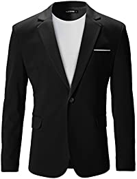 FLATSEVEN Slim Fit Veste Blazer Casual Premium Homme