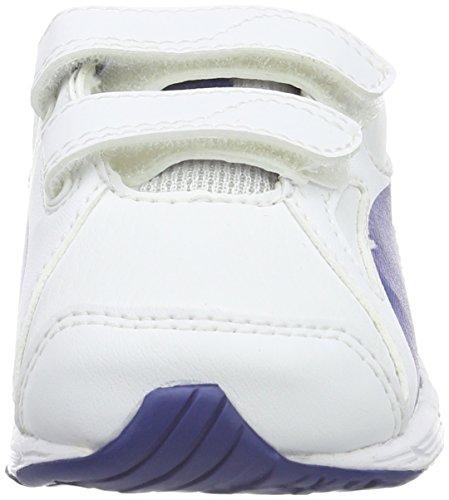 Puma Axis v4 SL V, Baskets Basses Mixte Enfant Blanc - Weiß (puma White-Limoges 06)