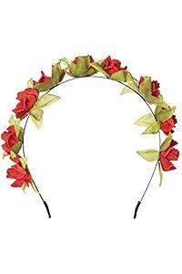 Sombrero de flores de la flor en 5 colores diferentes variaciones. Accesorios para el cabello para que coincida con la fiesta, boda y fiesta