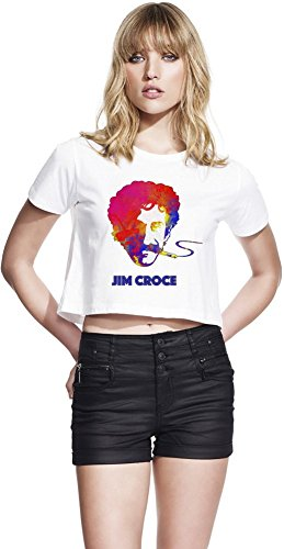 Colourful Jim Croce Continental Frauen geerntete Jersey Large -