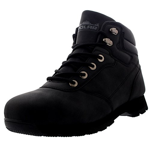 Polar-Mens-Rambling-Hiking-Walking-Waterproof-Trail-Snow-Winter-Padded-Collar-Ankle-Boots