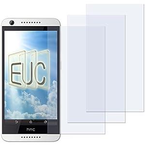3 x Displayschutzfolie klar/wie unsichtbar für HTC Desire 620G