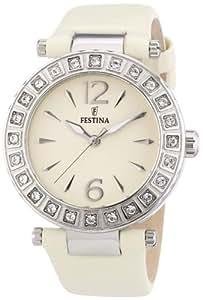 Festina Damen-Armbanduhr Analog Quarz Leder F16645/2