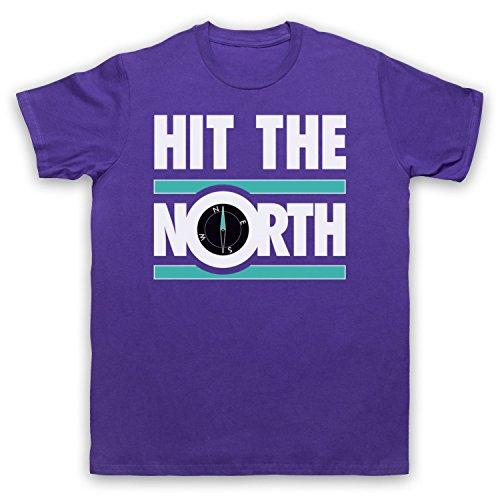 Inspiriert durch Fall Hit The North Unofficial Herren T-Shirt Violett