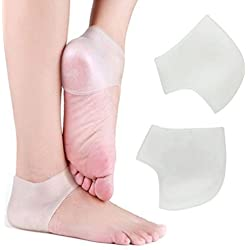 Heel Socks Moisturizing Silicone Gel