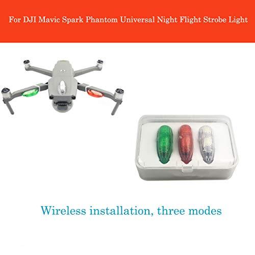 Webla Nachtflug mit bunten LED-Blitzdrohnenmodellen für DJI Mavic 2 Pro, Kunststoff -