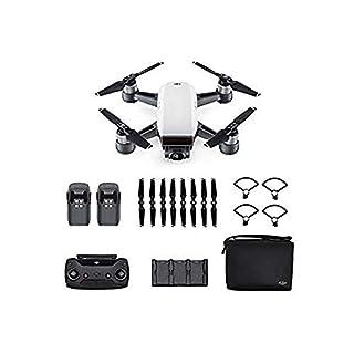DJI Spark Combo - Mini-Drohne mit max. Geschwindigkeit von 50 km/h, bis zu 2 km Übertragungsreichweite, 1080p Videos mit 30 fps und 12 Megapixel Fotos - Weiß (B071PB1Y59) | Amazon price tracker / tracking, Amazon price history charts, Amazon price watches, Amazon price drop alerts