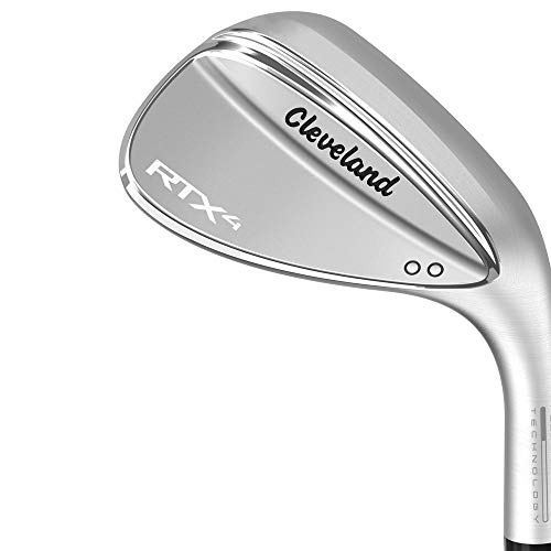 Cleveland Herren RTX 4 Wedge, Tour Satin Finish, Herren, RTX 4 Tour Satin Wedge, grau, 58 Degrees 58 Us 4 Satin