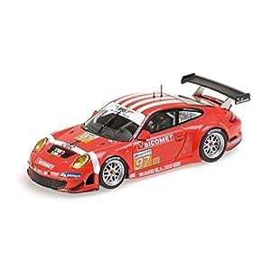 Minichamps - 410106997 - Vehículos en Miniatura - Modelo para la escala - Gt3 Porsche 911/997 Rsr - Le Mans 2010 - Escala 1/43