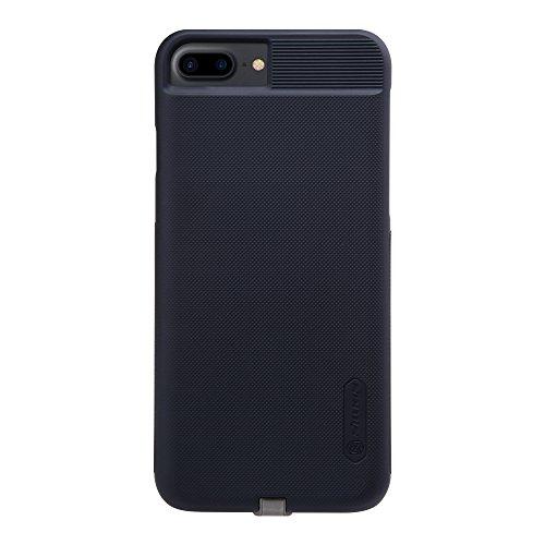Nillkin iPhone 7 Plus Wireless Charging Case, Magic Series Qi Drahtloser Ladegerät Schutzhülle Ladeempfänger Back Cover [Kompatibel mit Magnetic Wireless Auto Ladegerät] für iPhone 7 Plus
