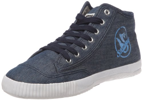 Shulong Shudenim High, Baskets mode mixte adulte Bleu (Denim)