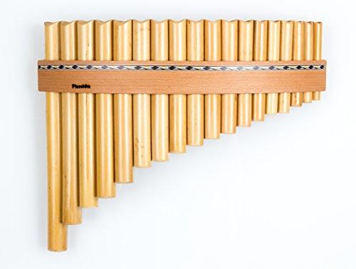 Plaschke Instruments Panflöte mit 18 Rohren/Töne in C-Dur handgefertigt in Südtirol