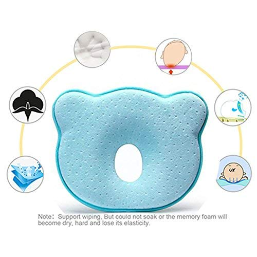 Almohada para bebé, de Finlon, de espuma