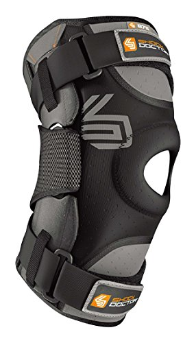 41AD1lC23xL - Shock Doctor Ultra Knee Support with Bilateral Hinges - Black, Large Reviews and price compare uk