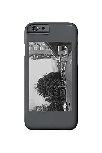 Olympia, Washington - View of Capitol Park, 6th, Exterior View of Hotel Olympian (iPhone 6 Cell Phone Case, Slim Barely There) -