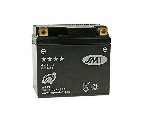 Batterie 12V 6Ah JMT Gel JMTZ7S für SYM Jet 50 R SportX 07-13 BK05W-6