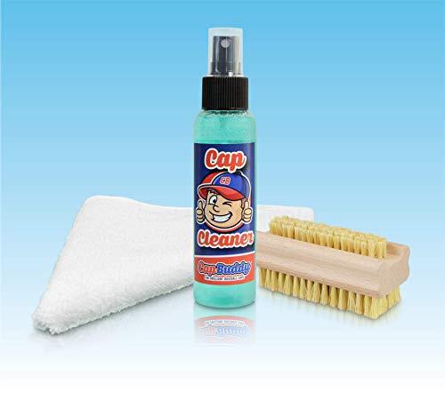 Cap Buddy Cap Cleaner Set Baseball Cap Reiniger für ALLE Baseballkappen inklusive Spray, Bürste und Tuch (Für Jordans Schuh-reiniger)