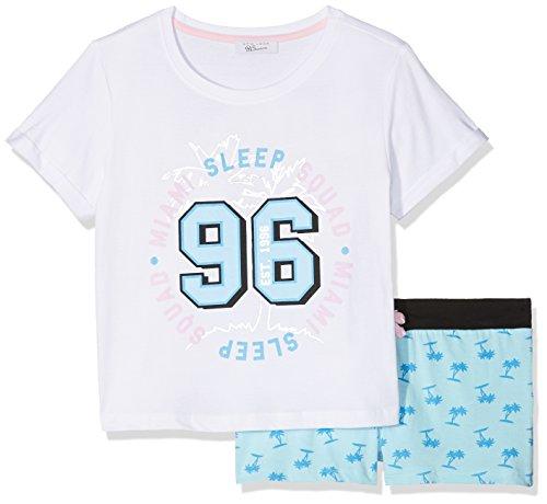 New Look Girl's Miami Palm Short Pyjama Sets