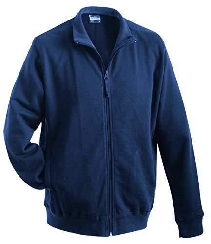 James & Nicholson Men's Sweat Jacket Sweatshirt, Men, Sweat Jacket