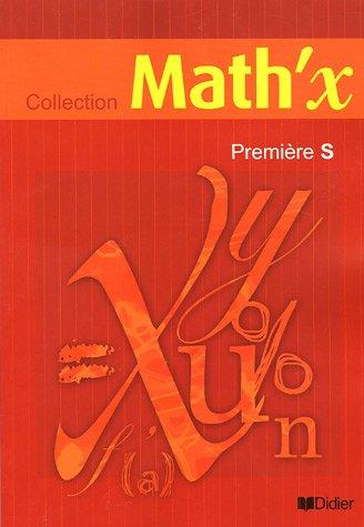 Math'x 1e S