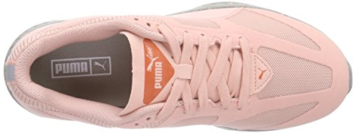 Puma Ignite Winterized, Baskets Basses mixte adulte Rose - Pink (coral cloud pink-steel gray 01)