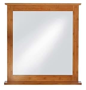 EISL BMBA02-SP Miroir avec cadre en bambou