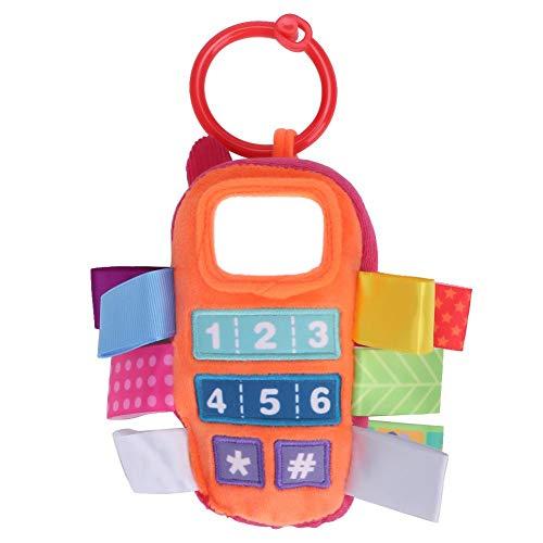 Baby-Plüsch-orange Gelb-Handy-Spielzeug-Kinderwagen-Bett-Fall-frühes pädagogisches Spielzeug(Orange) Orange Handy-fall