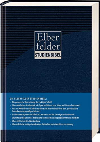 Elberfelder Studienbibel, Kunstleder, mit Sprachschlüssel und Handkonkordanz