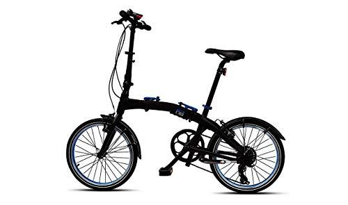 BMW Vélo Pliant pour vélo Pliable, Noir/Bleu