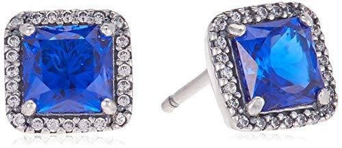 Pandora Ohrstecker Zeitlose Eleganz Blau  290591NBT