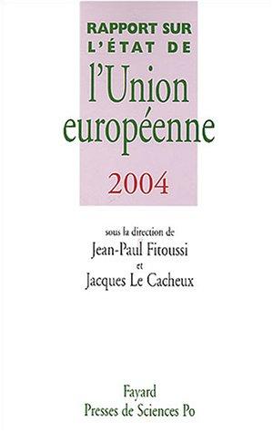 Rapport sur l'état de l'union européenne par J.-P. Fitoussi